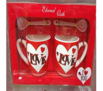LOVE YOU Couple Inner Mug