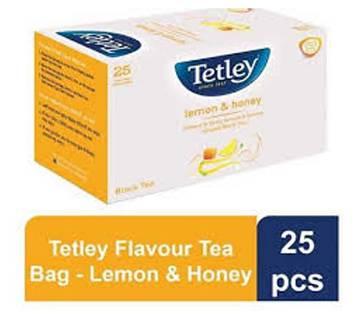 Tetley Green Tea Bag - Lemon & Honey - 25pcs/37.5g