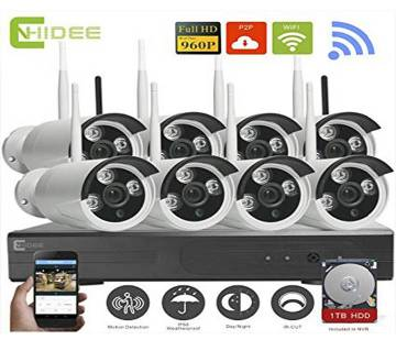 WIFI IP security camera package- 8 pieces