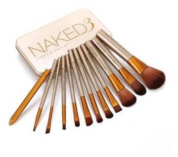 Naked3 প্রোফেশনাল মেকআপ ব্রাশ সেট