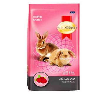 Smartheart র্যাবিট ফুড-Raspberry flavour-1Kg