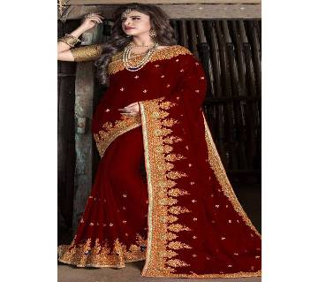 Indian Soft Weightless Georgette Replica Sharee
