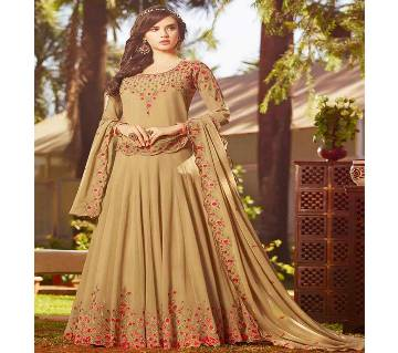 Indian designer Replica unstitched Gown