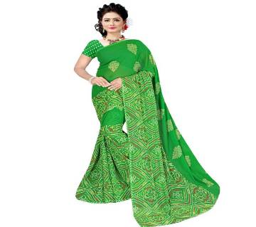 Indian Georgette Chandri Saree