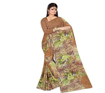 Indian Georgette Print Saree