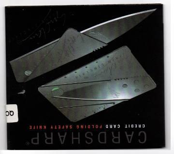 Credit Card Army Folding Knife