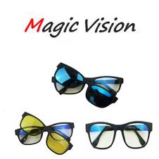 Magic Vision Glasses 3-in-1 Magnetic