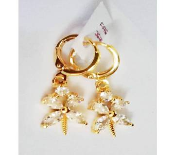 gold plated Butterfly Ear Ring