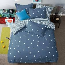 Aloy Cotton Double bed sheet set