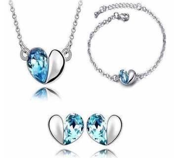 Cristal Drop Jewelry Set