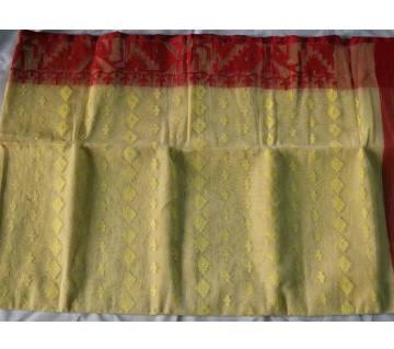 Half-Silk Jamdani Saree