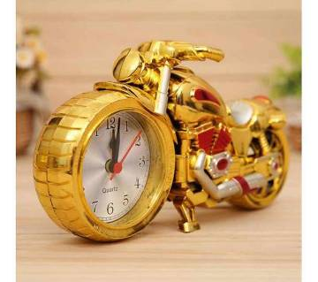 Silver Gold Anti Style Alarm Clock