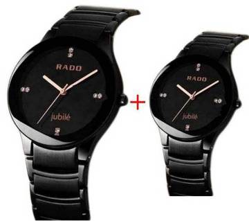 Rado Couple Watch-copy Combo Offer