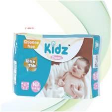 Kidz Diapers NB (0-4kg). F=KD-02