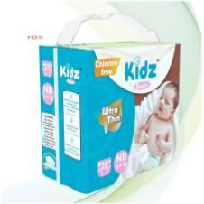 Kidz Diapers NB (0-4kg). F=Kd-03