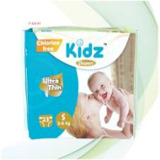 Kidz Diapers S (3-6kg). F=KD-05