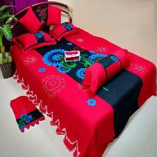 king size bed sheet 8 pieces set