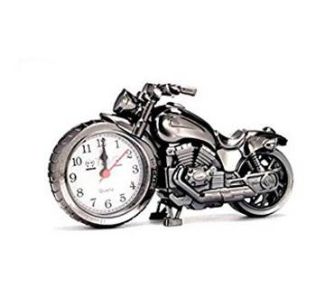 Motorcycle Shape Toy Clock
