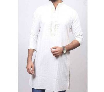 Slim Fit Cotton punjabi for men