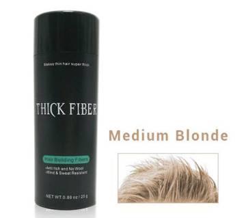 Thick Fiber Hair Building Fibers 25g Medium Blonde