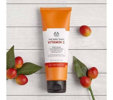 The Body Shop Vitamin ক্লিনজিং ফেস পলিশ -১২৫ মিলি.