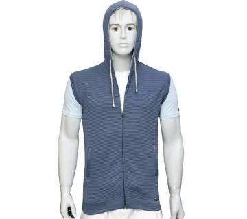 Gents half sleeve hoodie