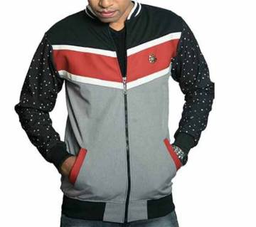 Full sleeve casual jacket for men