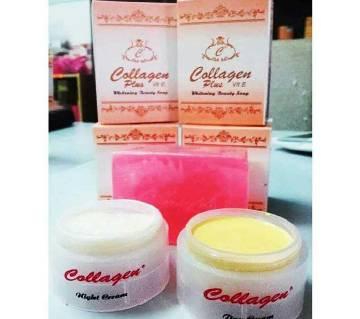 Beauty Soap & Cream Set (Collagen) - Indonesia