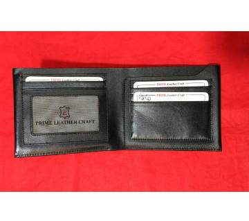Genuine regular shaped wallet