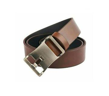 Gents casual leather belt