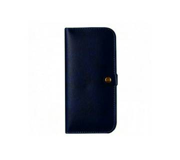 Leather long shaped wallet for men