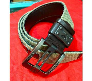 Fabric casual belt for men