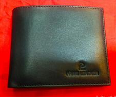 Genuine leather regular shaped wallet