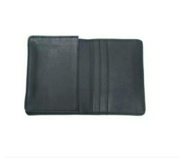 leather card holder for men