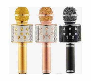 WS-858 Bluetooth HI-FI Karaoke Microphone (1 Piece)