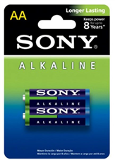 Sony AA Alkaine Battery