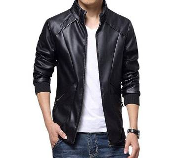 Artificial Soft Leather Jacket For Men