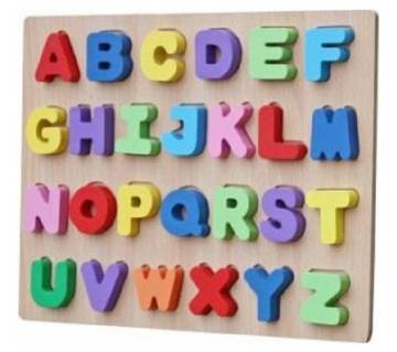 Puzzle ABC wooden toys