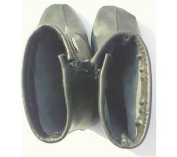 Leather Foot Socks