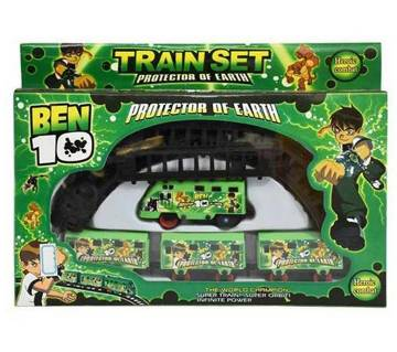 Big size train toy set for kids