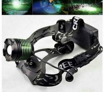 Rechargeable Zooming Head Light
