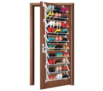 24 pr over door shoe rack