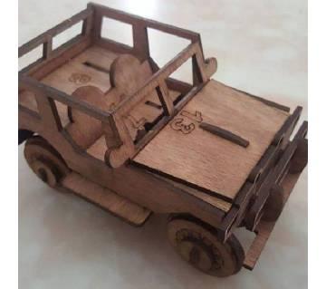 ত্রিমাত্রিক Vintage Jeep