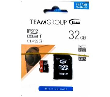 Team SD মেমোরি কার্ড (32GB)