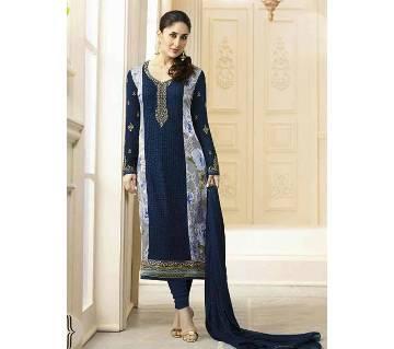 Vinay Fashion আনস্টিচড জর্জেট থ্রি-পিস