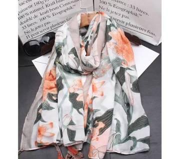 Cotton & linen mixed super soft hijab