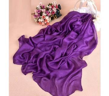 Shimmer silk hijab