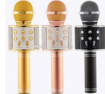 MICROPHONE WITH BLUETOOTH SPEAKER,MODEL NO-WS858