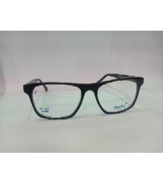 rayban brand black Glass Frame