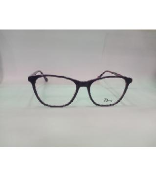 dior pink Glass Frame For women